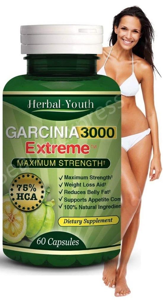 Garcinia Cambogia - За отслабване с най-мощния екстракт от билката (60 капсули, 500 mg) Програма за един месец