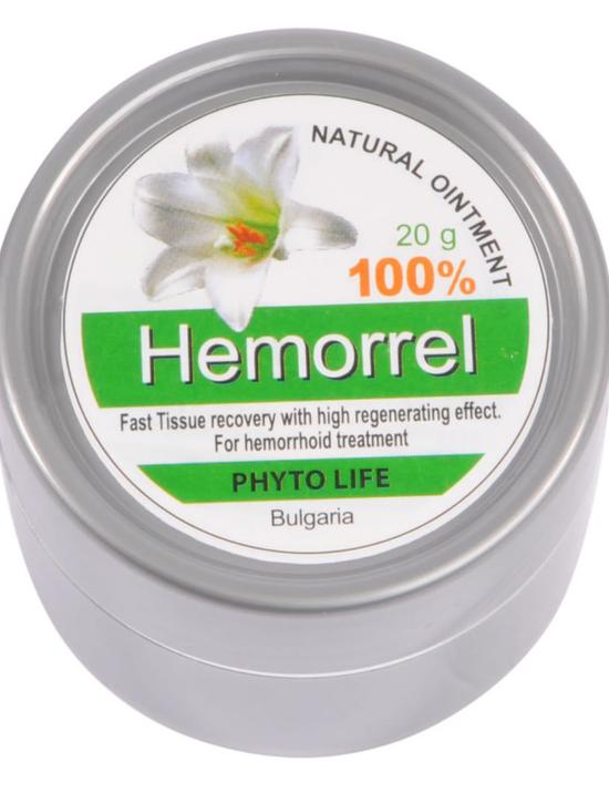 Силно ефективен билков мехлем против всички видове хемороиди и фисури! Произведен в България!