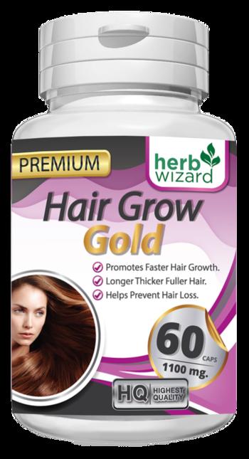 HERBAL HAIR GROW - Витамини за бърз растеж на косата, против косопад 60 капсули